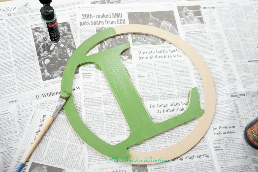 Step 1 - Green base