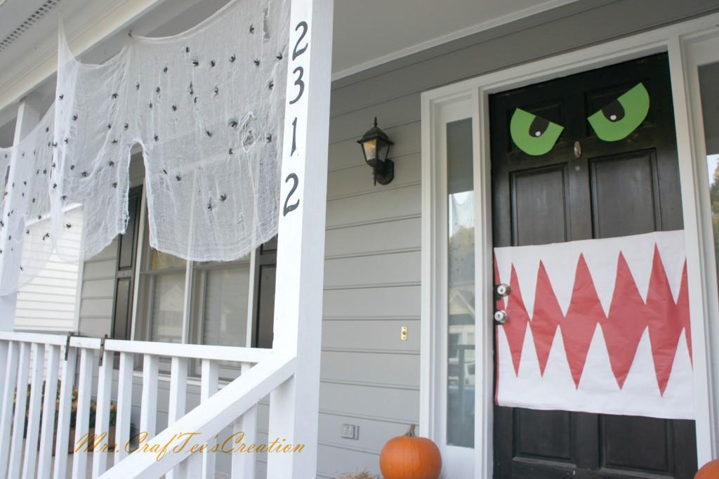 Front door monster