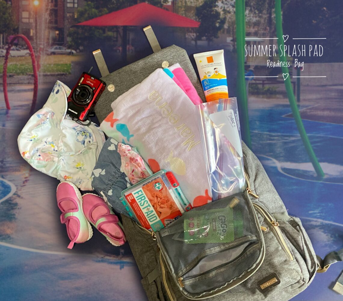 10 Essential Items For Your Summer Splash Pad Readiness Bag